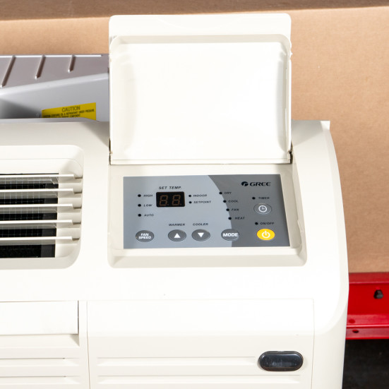 PTAC Unit - NEW - 12k - 208v - Heat Pump - Digital - ETAC2-12HP230VA-CP - Gree - 1 Product Image 2