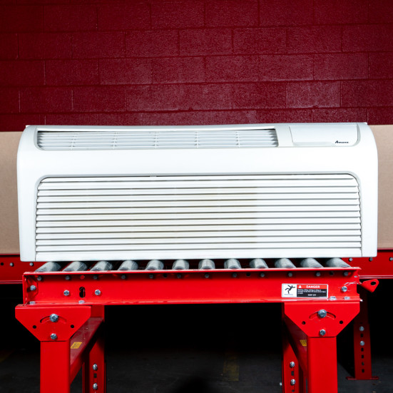 """Refurbished PTAC Unit - Amana - 12k - 42"""" - 265v - 20A - Air Conditioner with Resistive Electric Heat Product Image 1"""