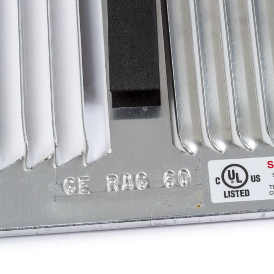 GE RAG60 Stamped Aluminum Grille Product Image 3