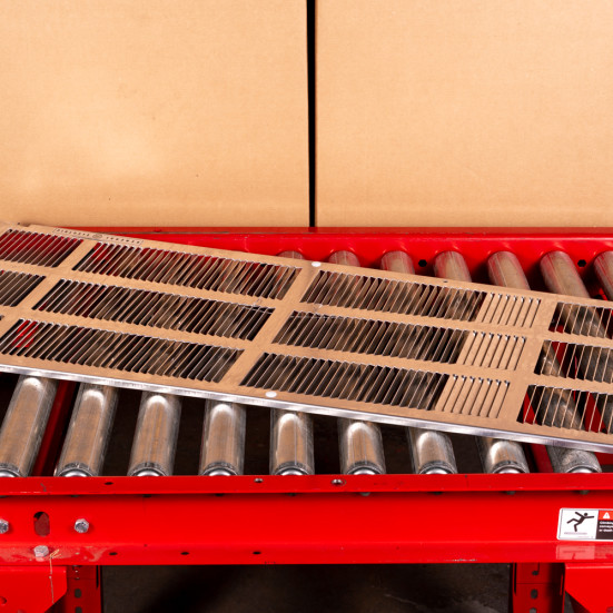 GE RAG60 Stamped Aluminum Grille - DS Product Image 3