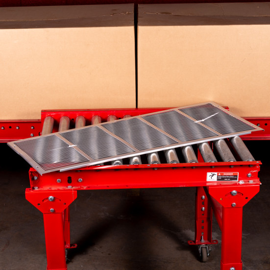 """PTAC Grille Friedrich Stamped Aluminum PTAC Grille - 42"""" Product Image 1"""