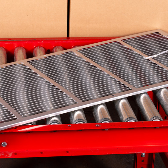 """PTAC Grille Friedrich Stamped Aluminum PTAC Grille - 42"""" Product Image 3"""