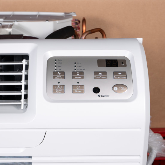 "TTW Unit - 12k Gree 26"" 208v Air Conditioner With Resistive Electric Heat Product Image 2"