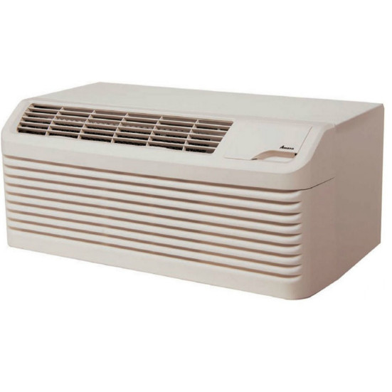 9,000 to 15,000 Btu Amana DigiSmart PTACs with Heat Pump with 5.0 kW Electric Heat - 265 V / 30 A Product Image 1