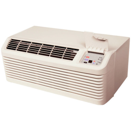 9,000 to 15,000 Btu Amana DigiSmart PTACs with Heat Pump with 5.0 kW Electric Heat - 265 V / 30 A Product Image 2
