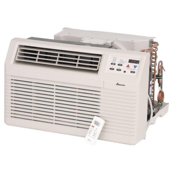 7,000 to 11,000 Btu Amana Through-the-Wall A/Cs with Heat Pump with 3.5 kW Electric Heat Backup - 208 V / 20 A Product Image 2