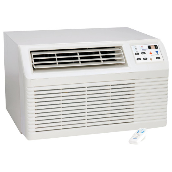 7,000 to 11,000 Btu Amana Through-the-Wall A/Cs with Heat Pump with 3.5 kW Electric Heat Backup - 208 V / 20 A Product Image 1
