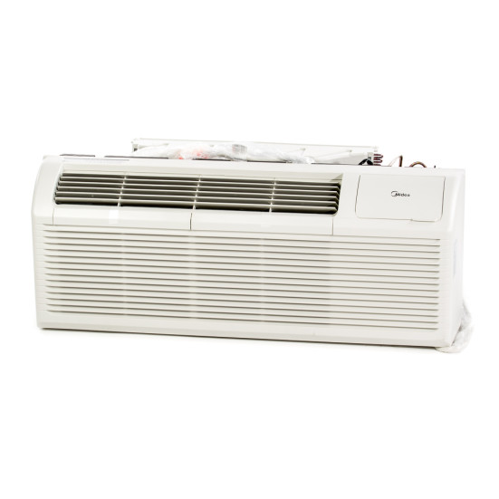 9,000 to 15,000 Btu Midea PTACs with 3.5 kW Resistive Electric Heat - 208/230 V / 20 A Product Image