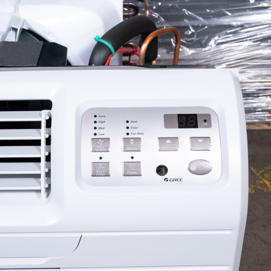 New Gree 9,000 BTU TTW Air Conditioner - 230 volt - 20 amp - with Digital Controls and Electric Heat -DS Product Image 7