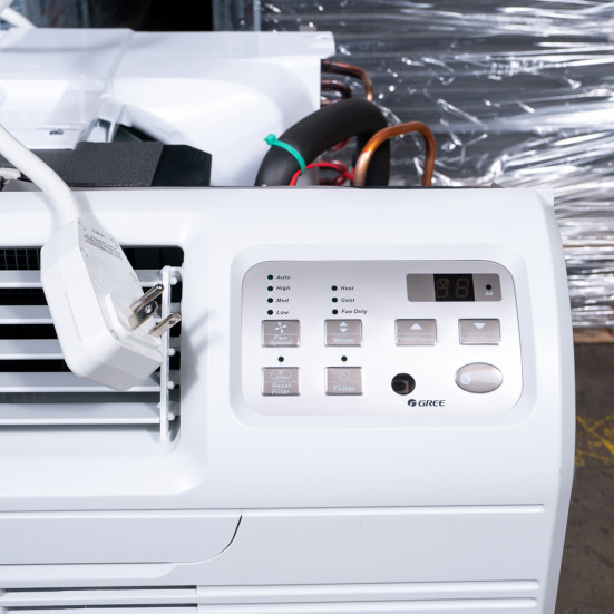 New Gree 9,000 BTU TTW Air Conditioner - 230 volt - 20 amp - with Digital Controls and Electric Heat -DS Product Image 5