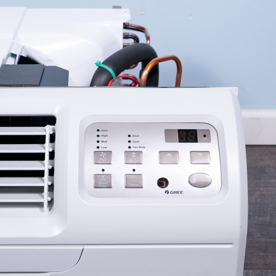New Gree 9,000 BTU TTW Air Conditioner - 230 volt - 20 amp - with Digital Controls and Electric Heat -DS Product Image 3