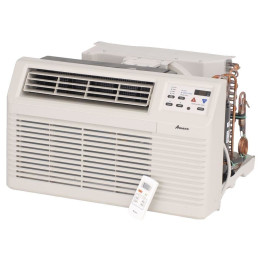 TTW Unit - 9k Amana PBH Series 208v Air Conditioner with Heat Pump and 3.5 kW Resistive Electric Heat