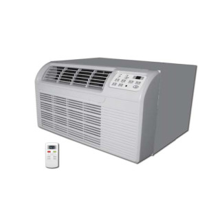 9,000 Btu Islandaire Through-the-Wall Heat Pump with 1.0 kW Backup Electric Heat - 208 V / 20 A