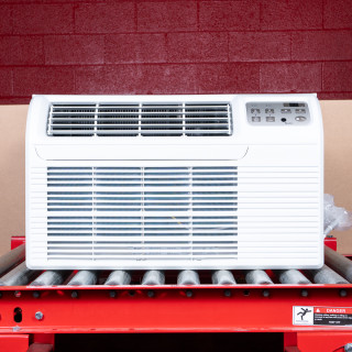 "TTW Unit - 12k Gree 26"" 208v Air Conditioner With Resistive Electric Heat"