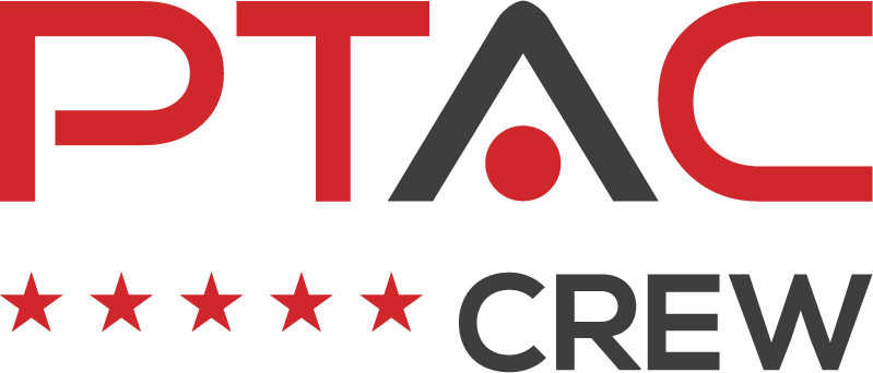 Logo of PTAC Crew, a nationwide PTAC installation company